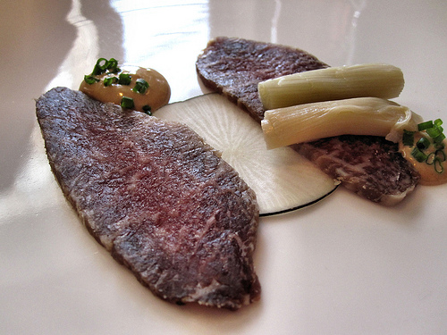 Salt-cured Musk Ox