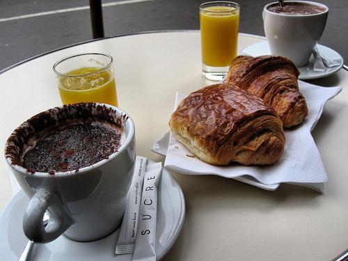 un petit déjeuner @ Dominique Saibron