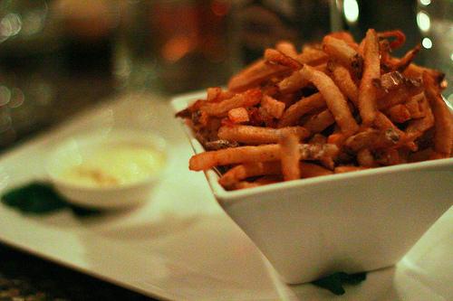 Mmmm fries
