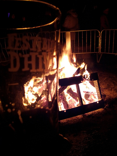 Mmm beer and fire!