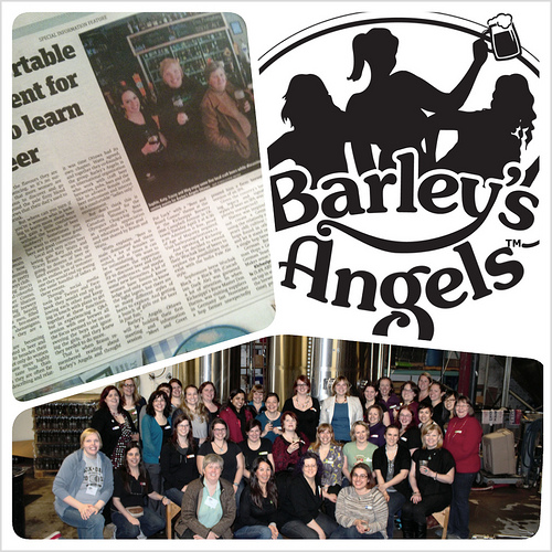 Hurray for Barley's Angels!
