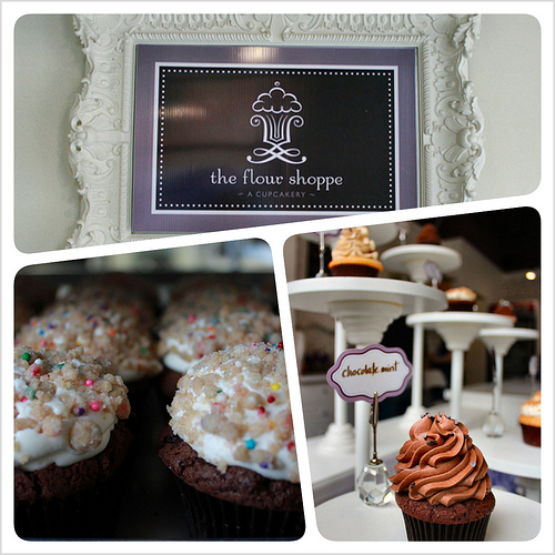 Cupcakes from the Flour Shoppe