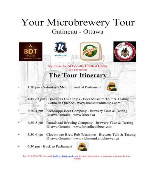 Ottawa Microbrewery Tour