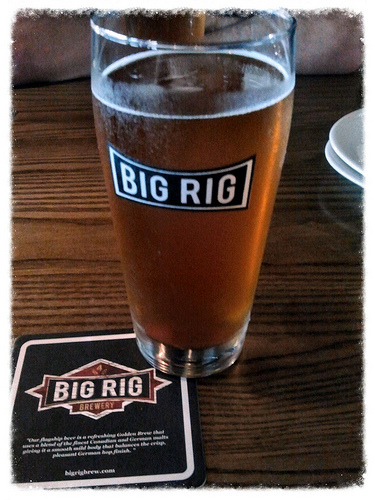 Big Rig Brewery & Kitchen's Dortmunder Export