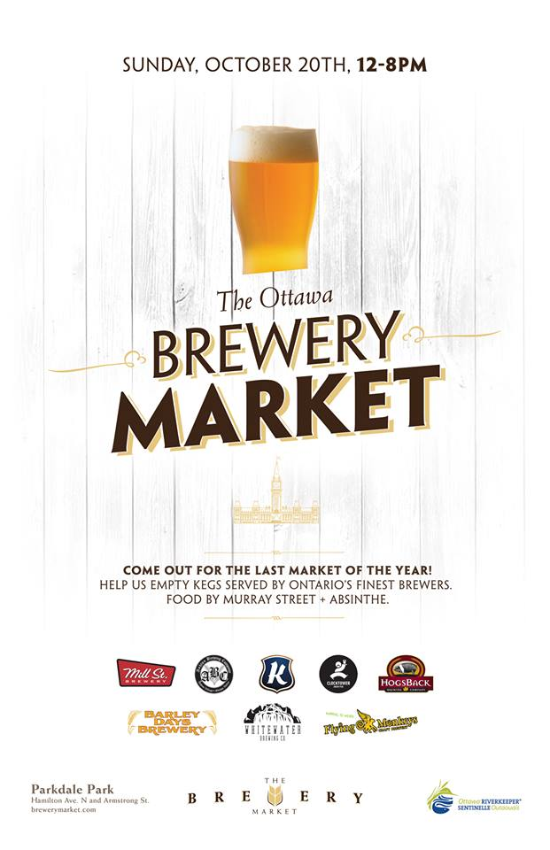 October 2013 Edition of the Ottawa Brewery Market