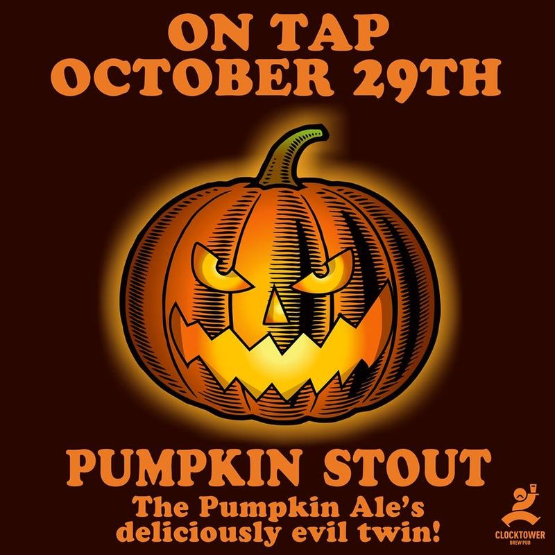 Pumpkin Stout by The Clocktower Brewpub
