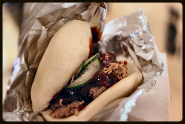 Pulled pork bao from big BAO!