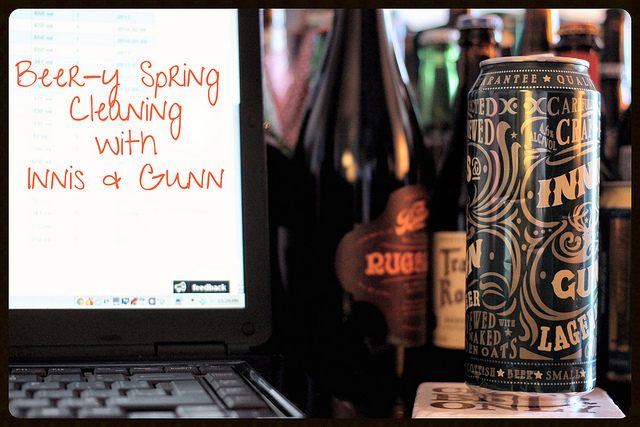 Beer-y Spring Cleaning with Innis & Gunn