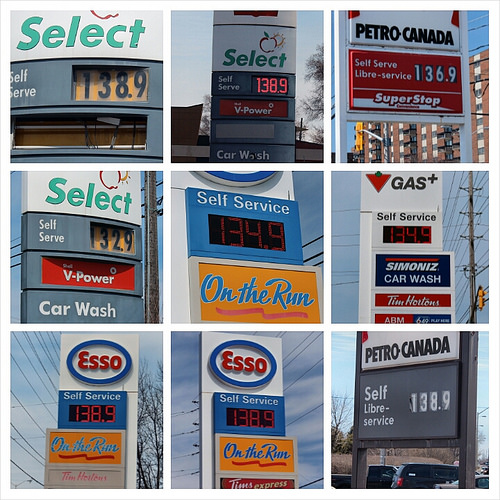 Crazy stupid gas prices!