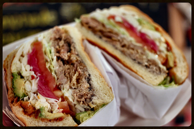 This sandwich called the Cemita has everything you'd ever want!