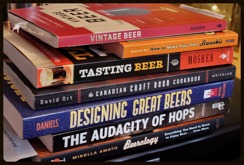 Beer books - learn up!