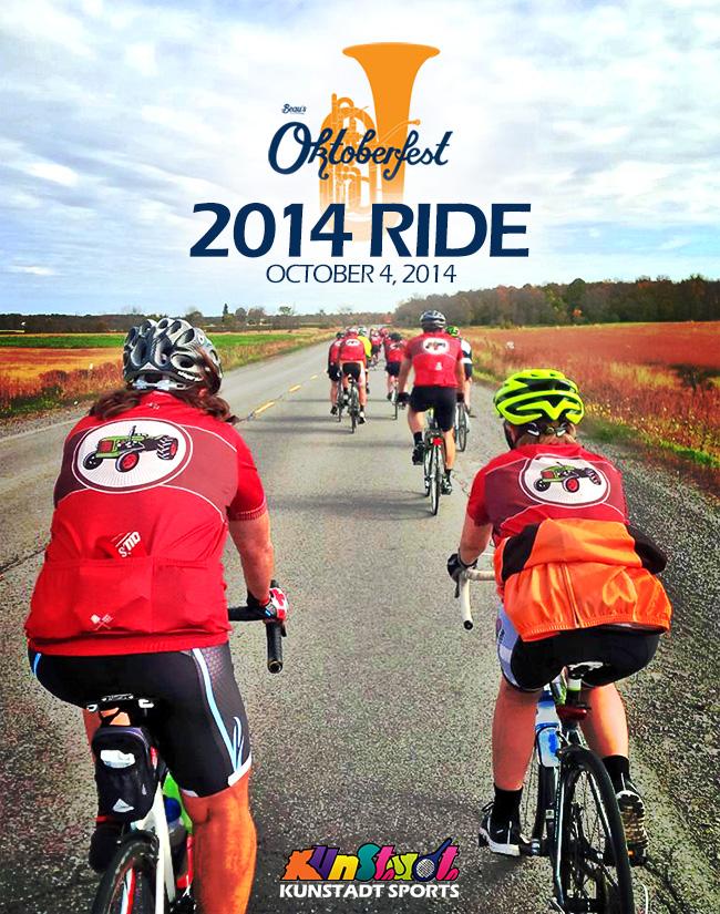 BEER&FUNDRAISING: Beau's Oktoberfest Ride 2014 (October 4, 2014)